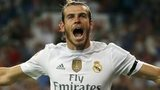 Gareth Bale celebrates scoring for Real Madrid