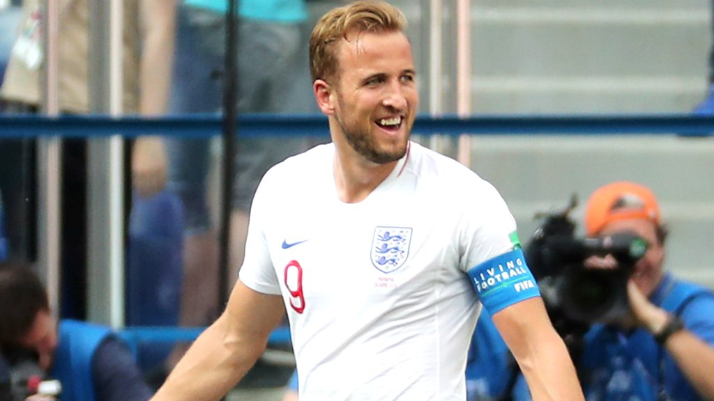 World Cup 2018: Harry Kane seals his hat-trick to put England 6-0 up