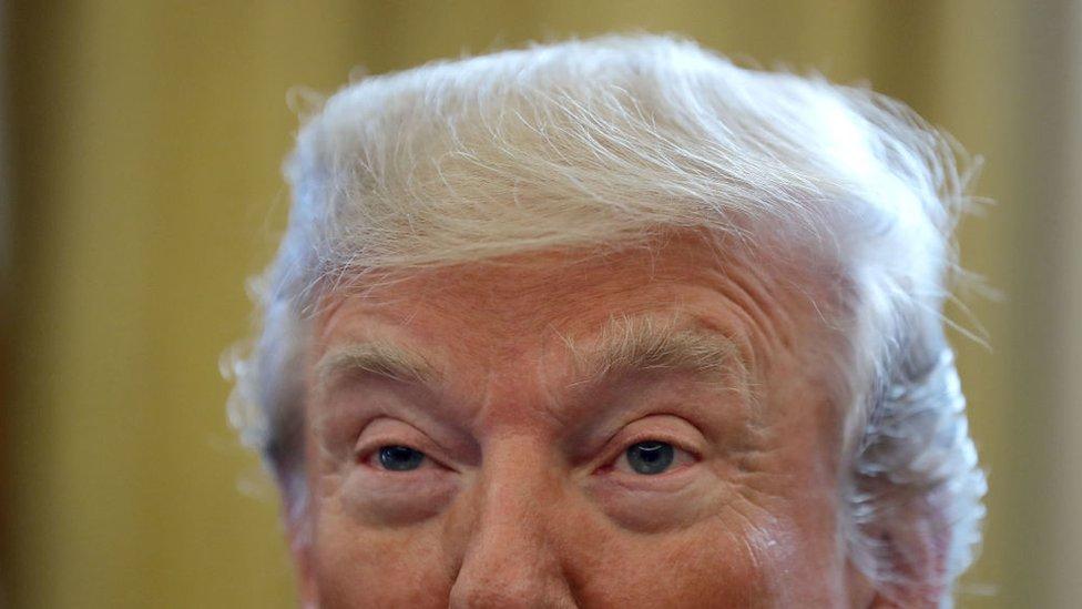 La salud mental del presidente ha sido cuestionada en los últimos tiempos.