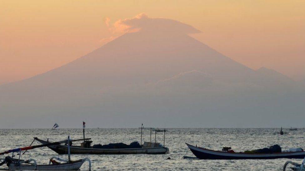 На Балі попереджають про можливе виверження вулкану