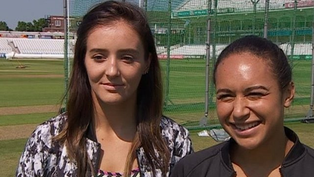 Laura Robson (left) and Heather Watson