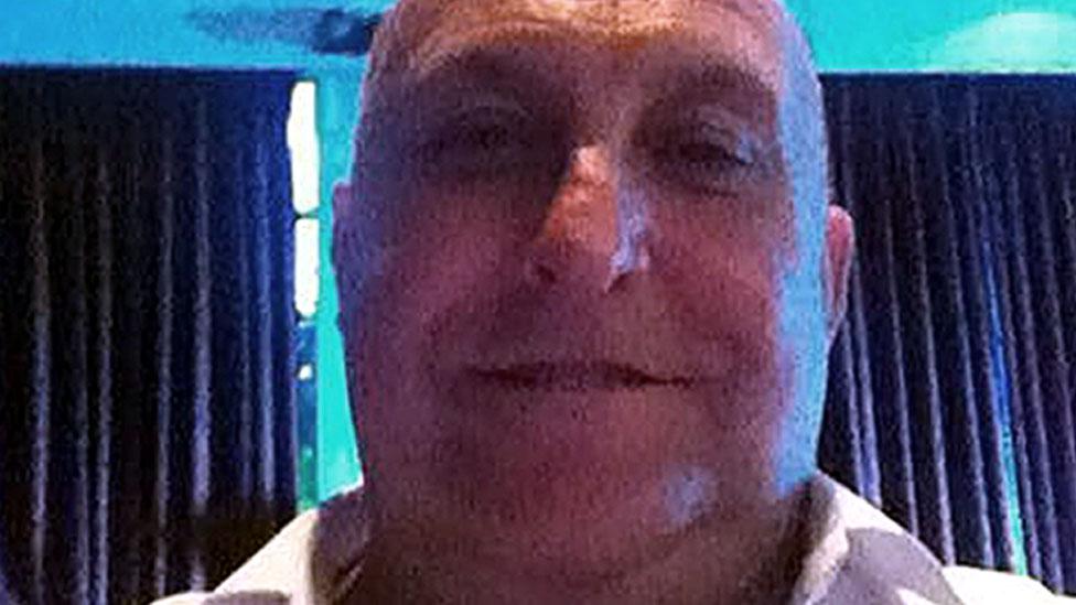 PC Gordon Semple death: Stefano Brizzi 'spent days' with body