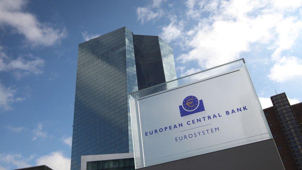 Frankfurt ya es la capital financiera de Alemania y muchos bancos tienen su sede en la ciudad.