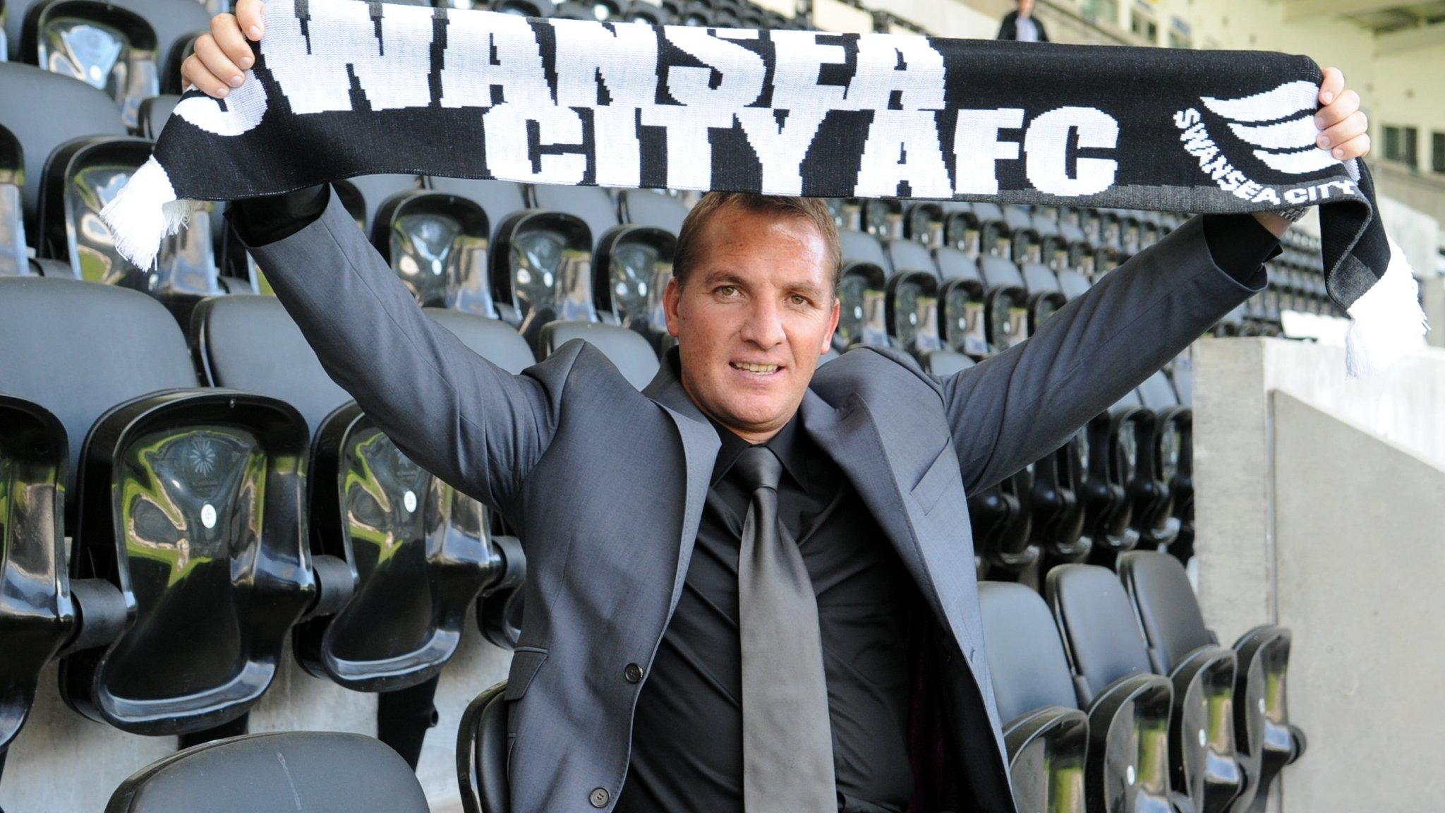 Swansea chairman Jenkins regrets Rodgers snub