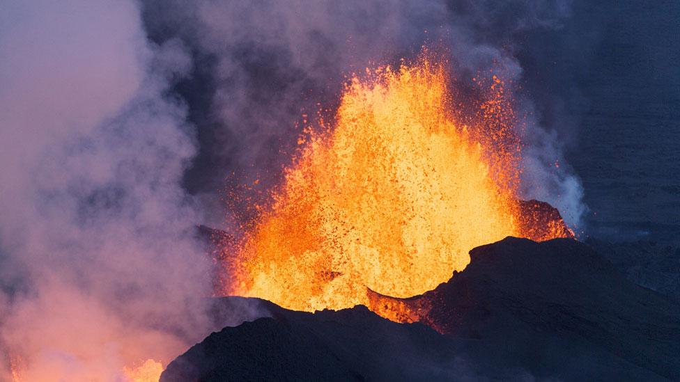 Erupción del volcán Bardarbunga en 2014