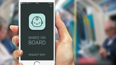 New seat alert app for pregnant commuters