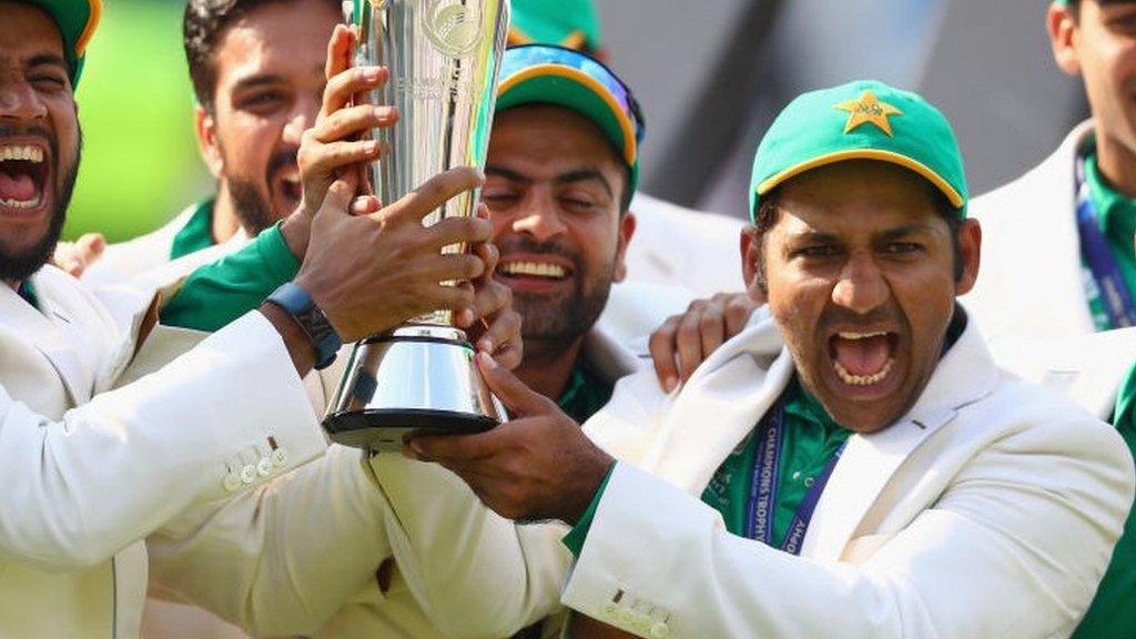 اس فتح کے ساتھ ہی انڈیا سے بڑے ٹورنامنٹ میں ہمیشہ ہارنے کا داغ دھو دیا: سرفراز