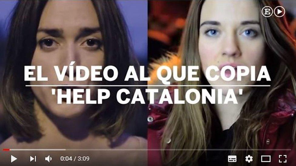 Каталонці зняли вірусне відео, схоже на українське