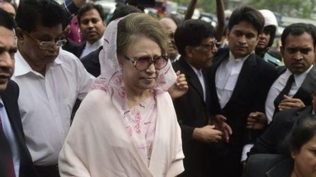 সংসদ নির্বাচন: বিএনপি নেতা খালেদা জিয়ার মনোনয়ন বাতিল তিন আসনেই