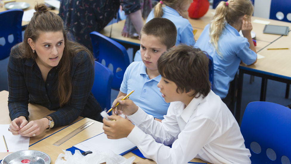 Classroom teachers in England getting 3.5% pay rise