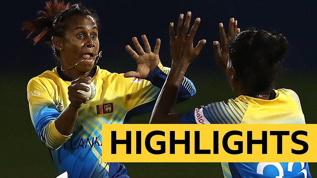 Women's World Twenty20 highlights: Sri Lanka keep semi-final hopes alive with win