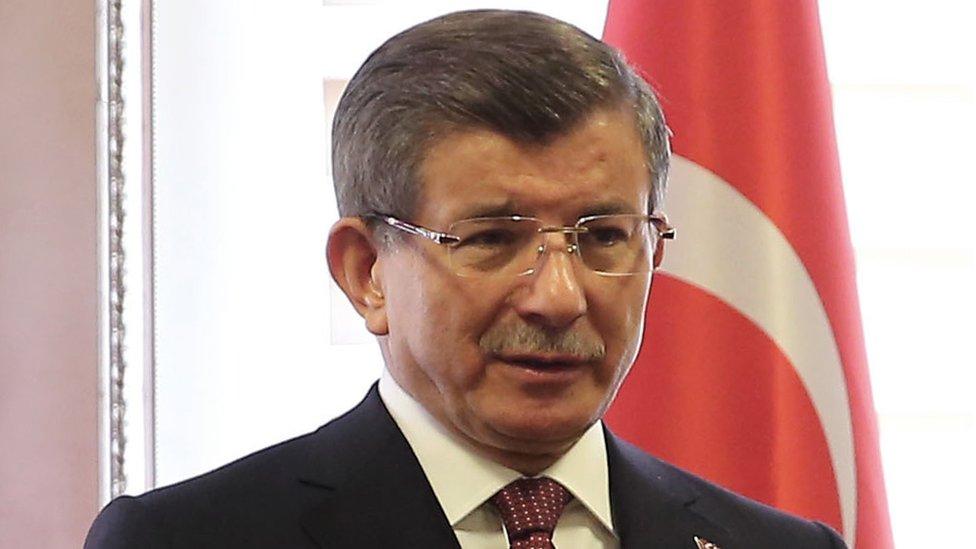 Turkish Prime Minister, Ahmet Davutoglu