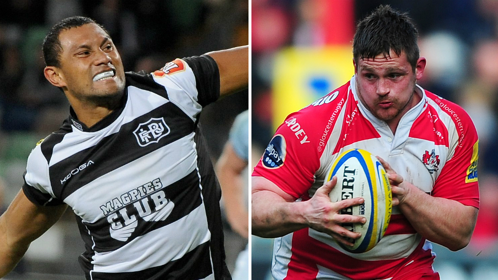 Bath: Centre Robbie Fruean & prop Shaun Knight join Premiership club