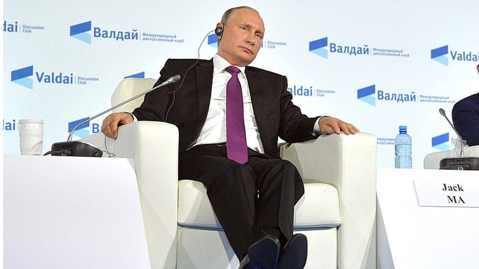 Путін: закриття кордонів між РФ та Донбасом призведе до різанини