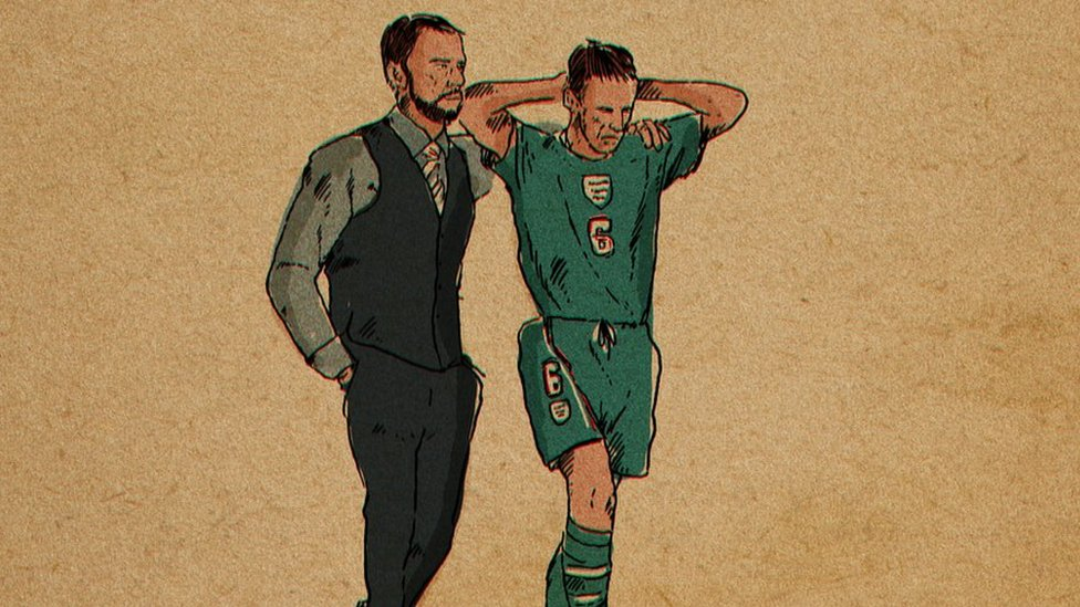 World Cup 2018: How Kane, Southgate and Pickford inspired an artist