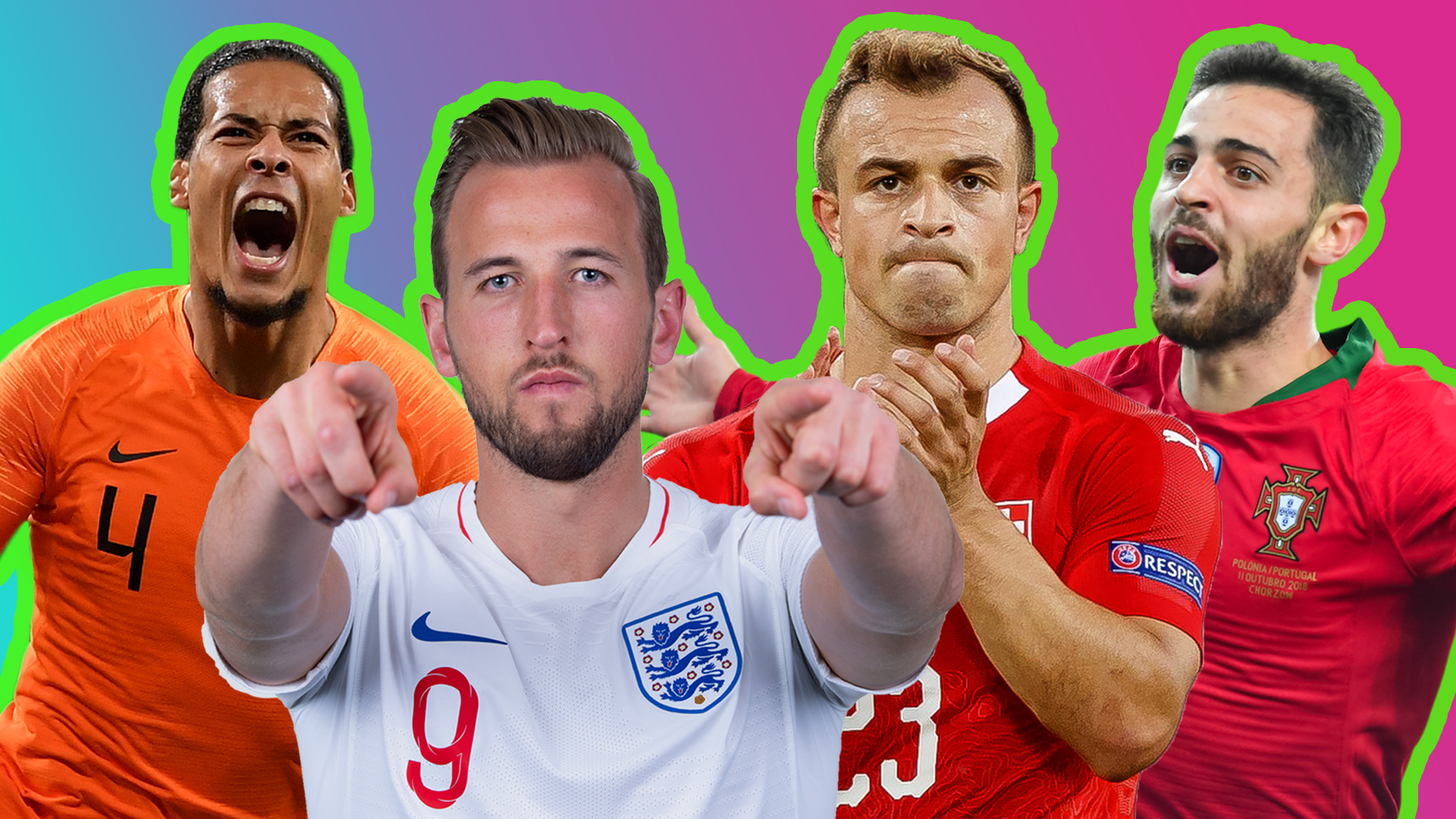 England V Netherlands What Is The Uefa Nations League Finals Cbbc Newsround
