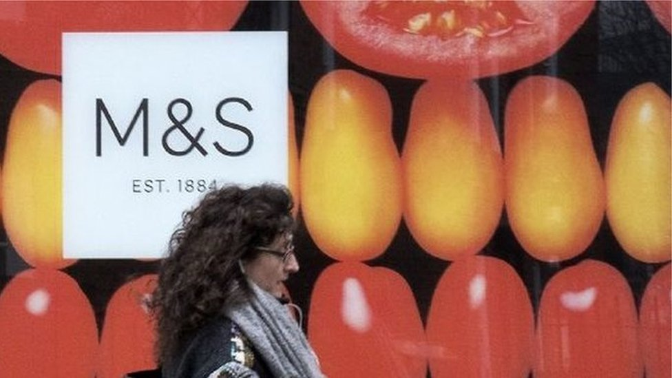 Card payment problems at Marks & Spencer