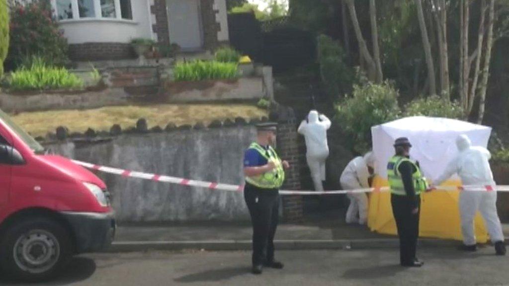 Murder probe arrest after man, 48, dies at Clydach