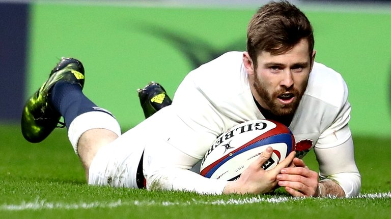 England overcome improved Italy to return to top of table