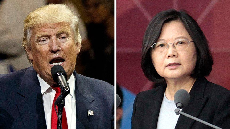 Trump-Taiwan call: China lodges protest