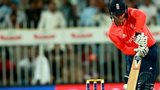 Jason Roy bats for England