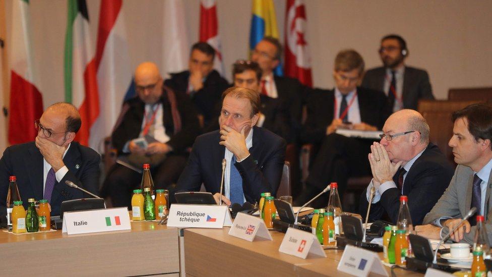 """اجتماع دولي لدبلوماسيين غربيين يبحثون موضوع الهجمات """"الكيمياوية"""""""