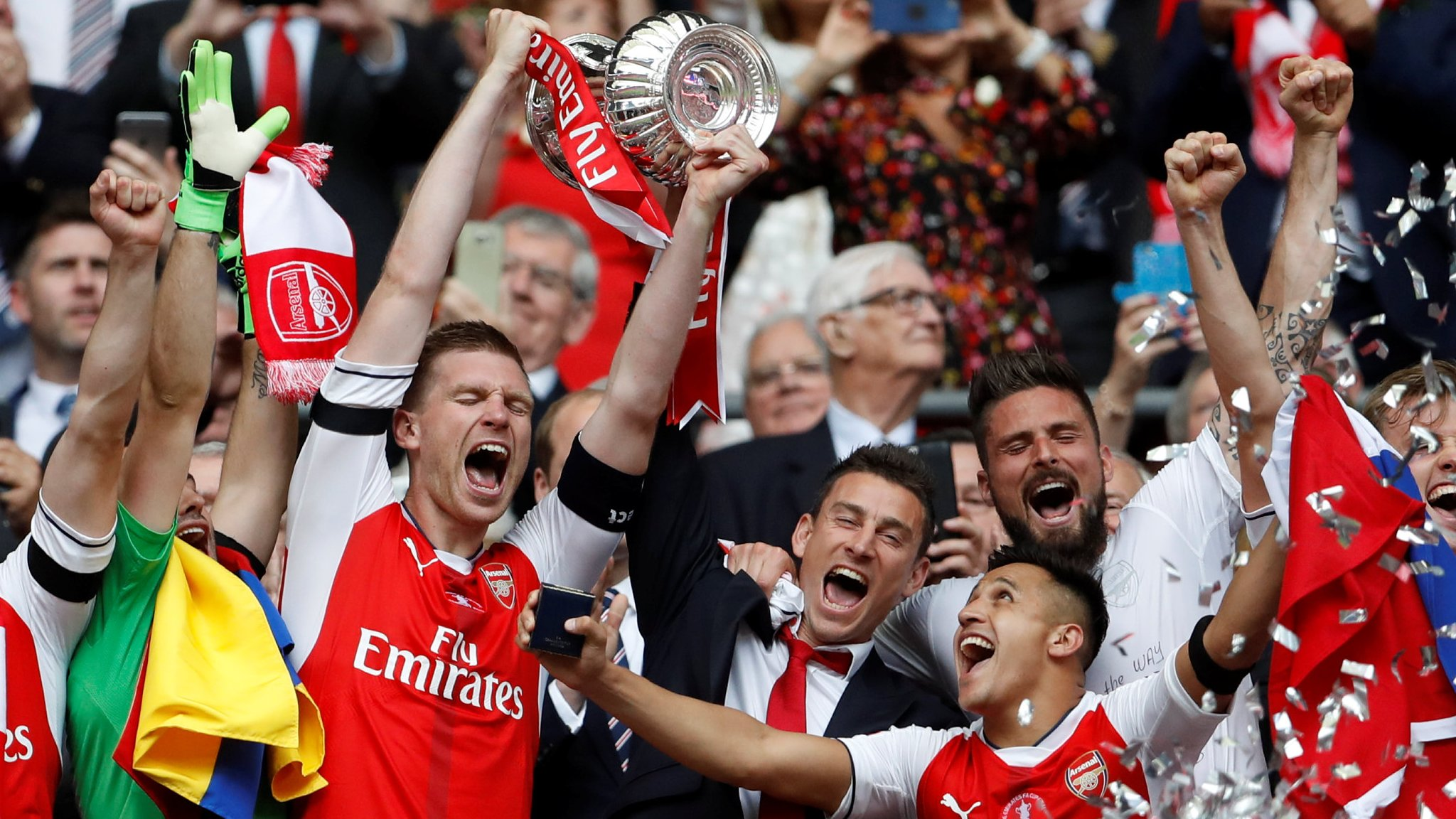 Watch Gunners lift record 13th FA Cup