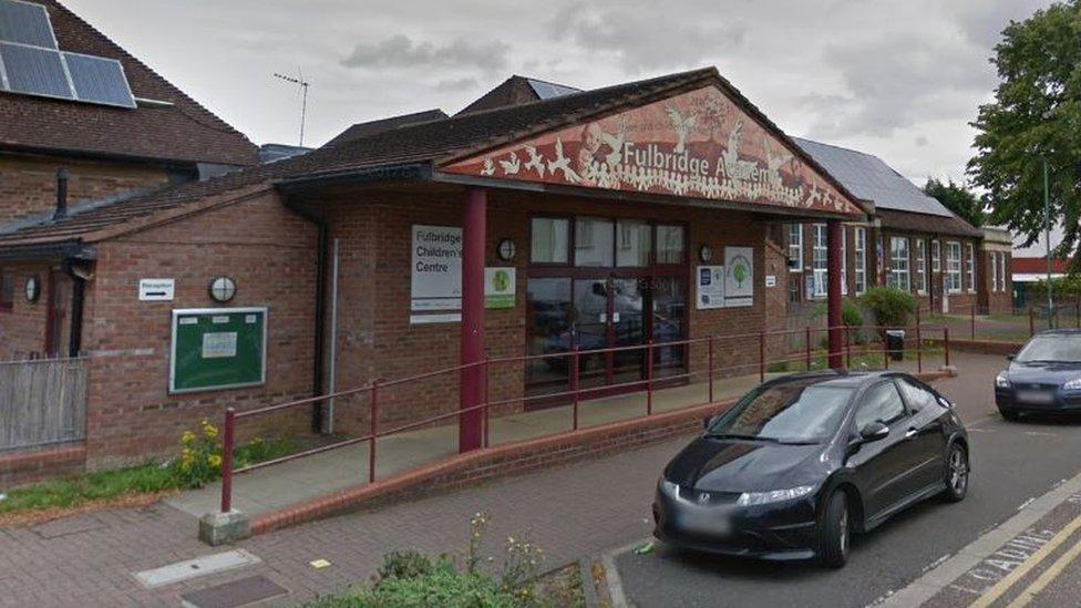 Fulbridge Academy teacher made 'false statements'