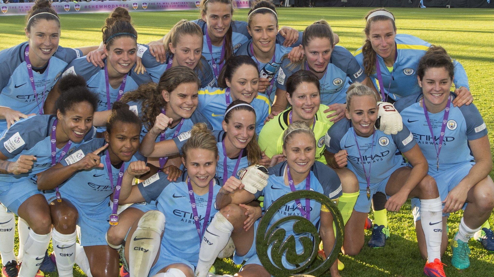 Nike celebra el histórico doblete del Manchester City femenino