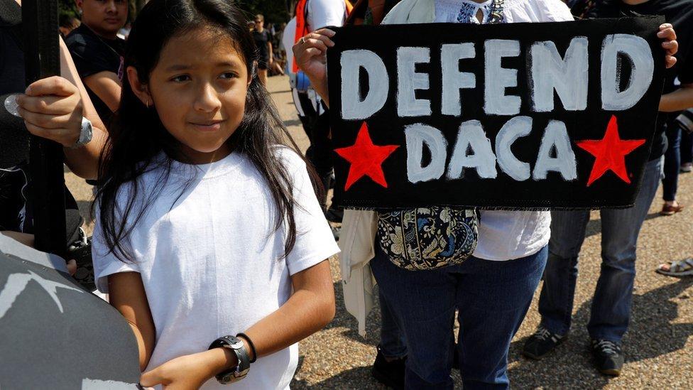 Daca Dreamers: US scraps young undocumented immigrants scheme
