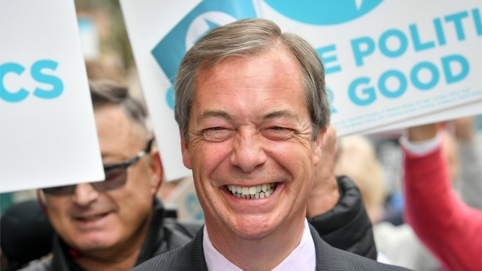 European elections 2019: Electoral Commission reviewing Brexit Party funding