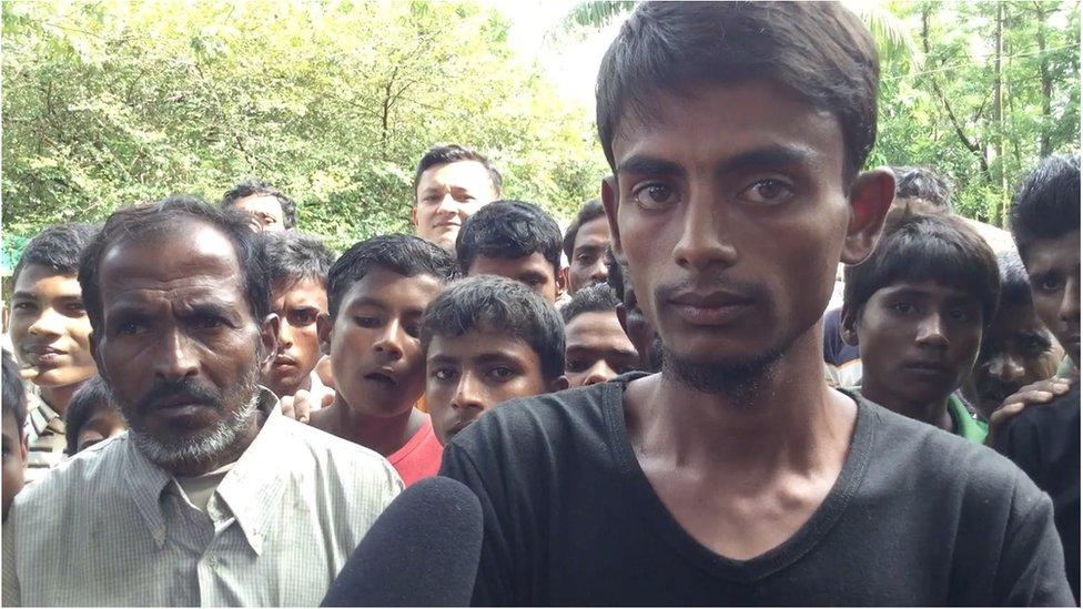 রোহিঙ্গা সংকট: মিয়ানমারে সেনাবাহিনীর কাছে নির্যাতনের শিকার একজন বর্ণনা করেছেন সেখানে কিভাবে নির্যাতন করা হচ্ছে