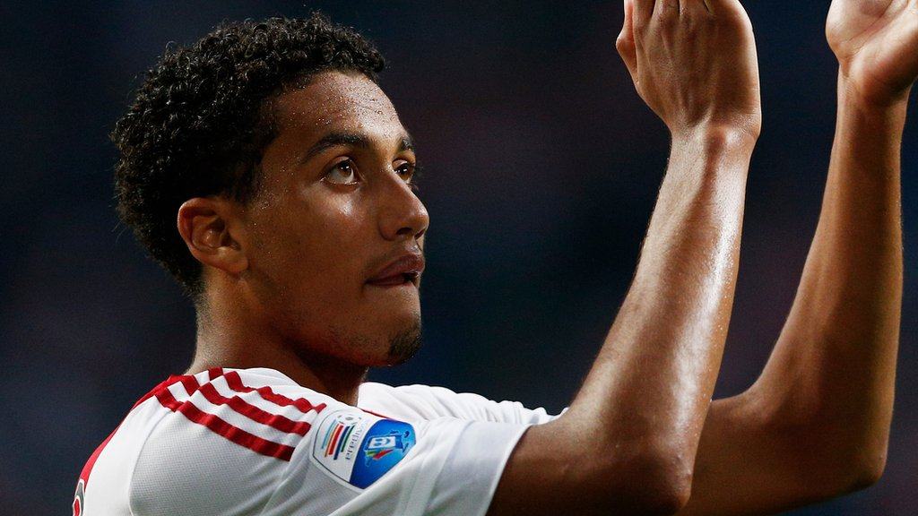 Palace sign defender Riedewald from Ajax