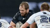 Alun Wyn Jones in action for Ospreys against Blues