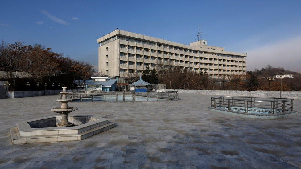 Kabul: Gunmen attack Intercontinental Hotel