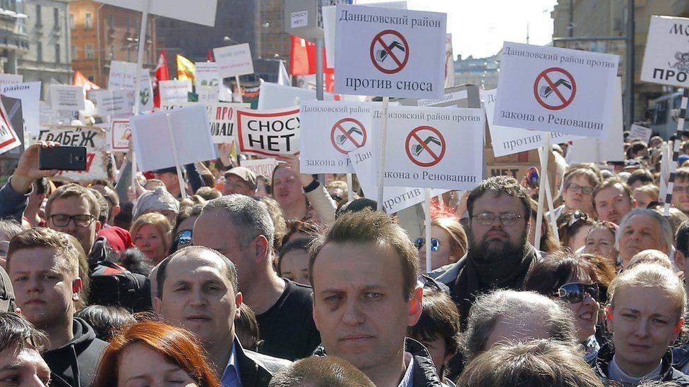 زعيم المعارضة الروسية يحث الناس على الانضمام لاحتجاجات ضد الفساد