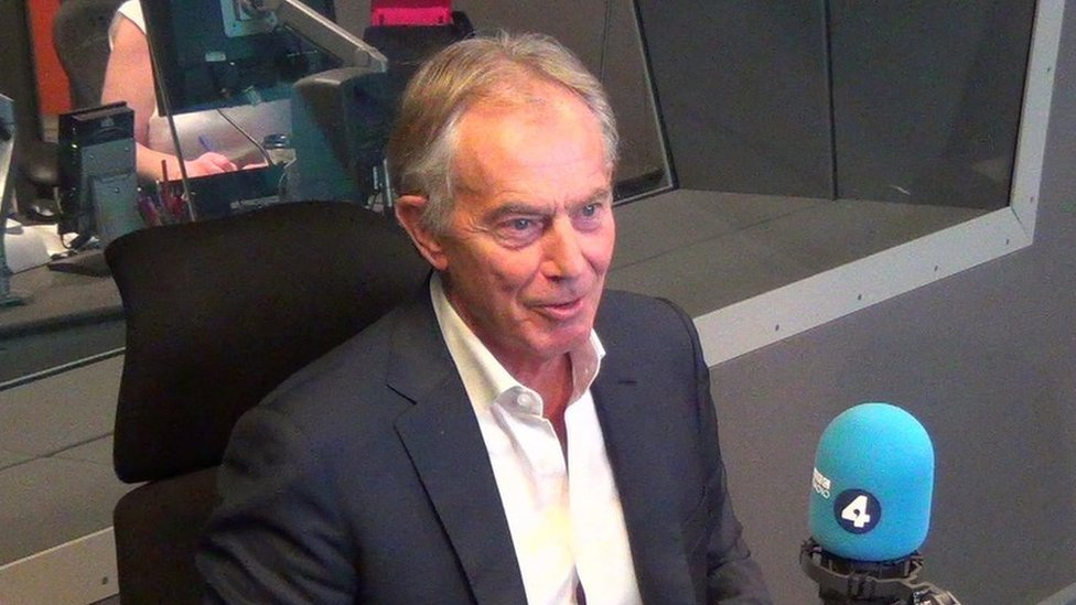 Tony Blair doubts Labour can be 'taken back by moderates'