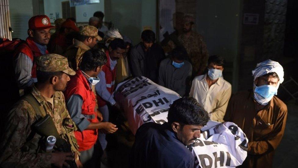 serangan pakistan