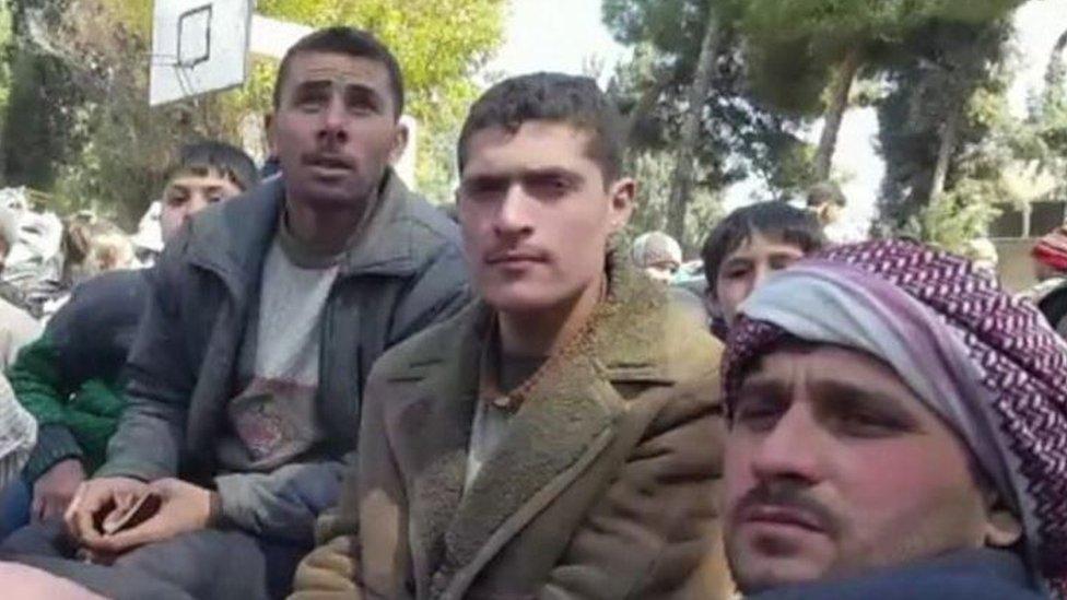نقل الفارين من الغوطة