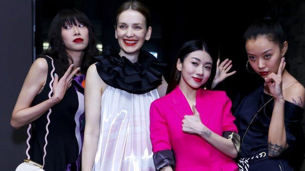 Shanghai Fashion Week: UK brands battle for China's growing market