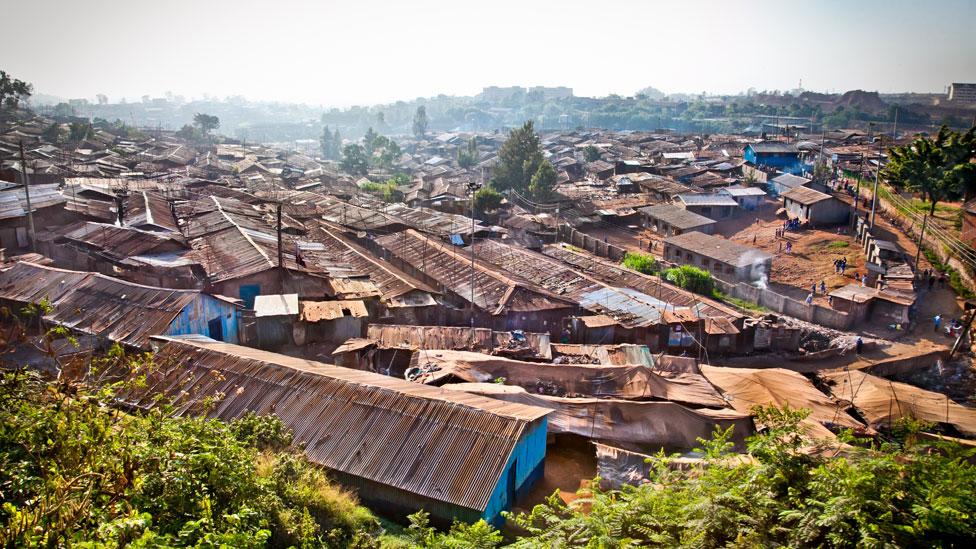 Kibera en Kenia