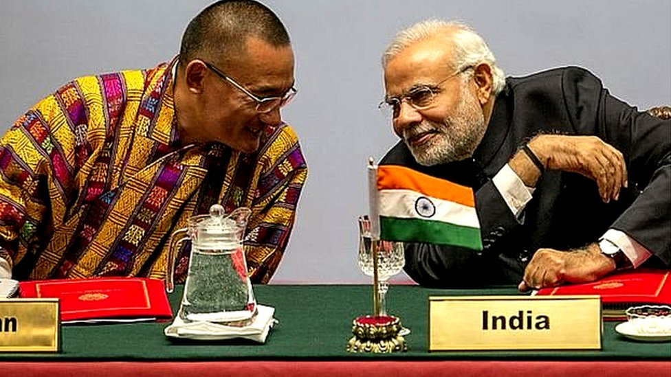 انڈیا اور چین میں کشیدگی پر بھوٹان خاموش