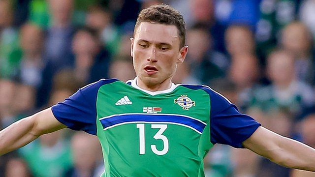 Corry Evans was named in the side which beat Ukraine 2-0