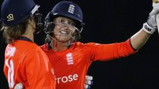 Sarah Taylor acknowledges her half century