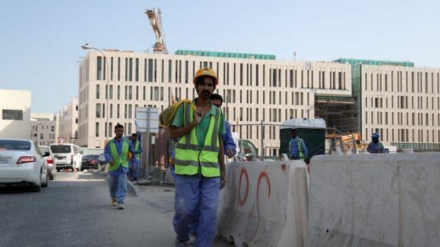 Buruh migran di Qatar