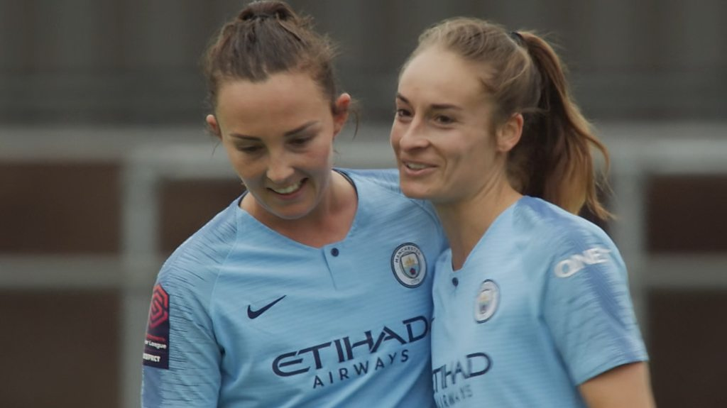 Women's Super League highlights: Man City comeback to beat Birmingham 3-2 in WSL classic