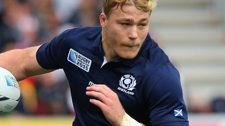 Scotland's David Denton