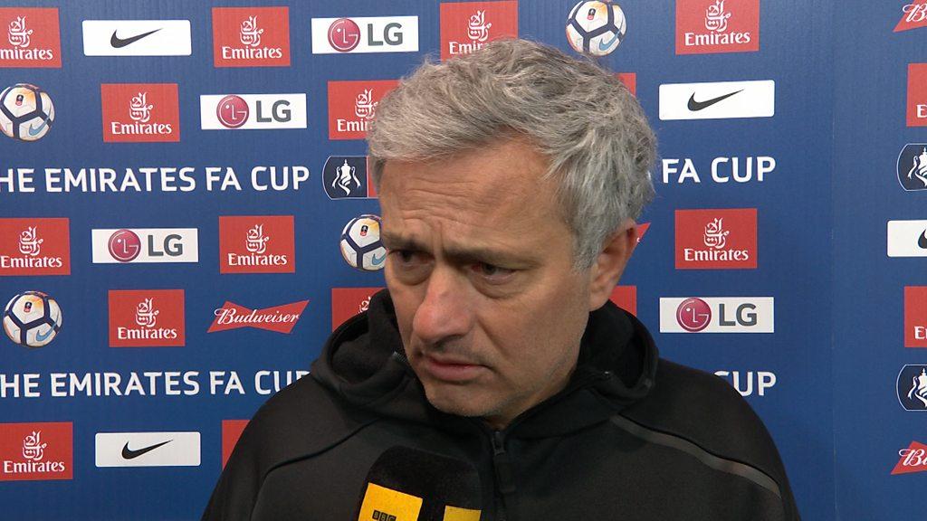 Manchester United 2-0 Brighton: Jose Mourinho unhappy despite win