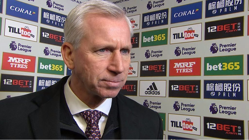 West Brom 1-2 Huddersfield: Alan Pardew disappointed with 'ugly' performance
