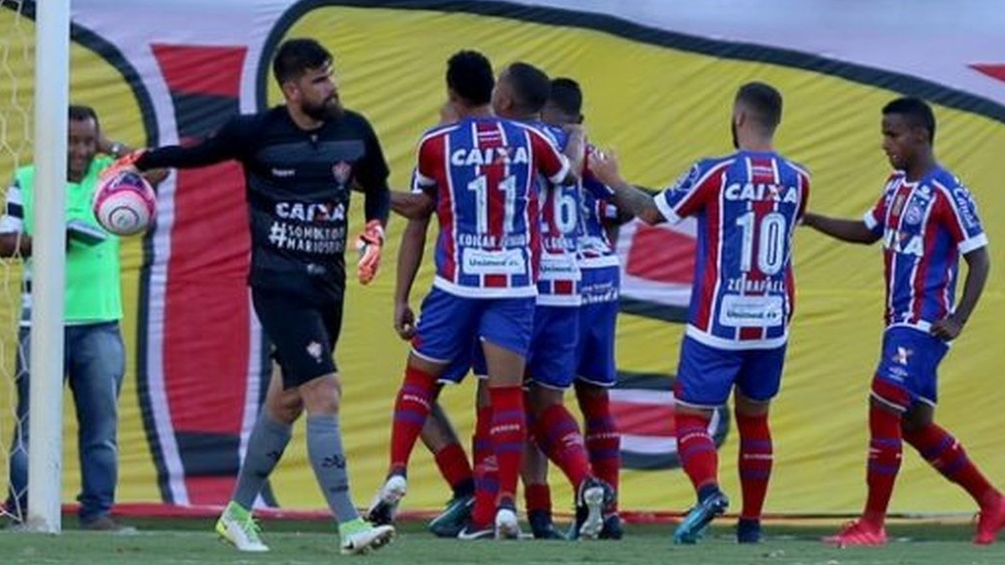 Abandoned after 10 red cards - watch moment that sparked chaos in Brazilian game